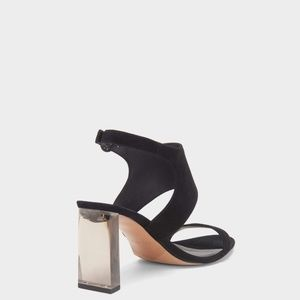 Dkny Stina Leather Open Toe Slingback Sandal